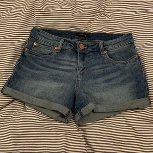 STS Blue High Waisted Shorts- Medium Wash